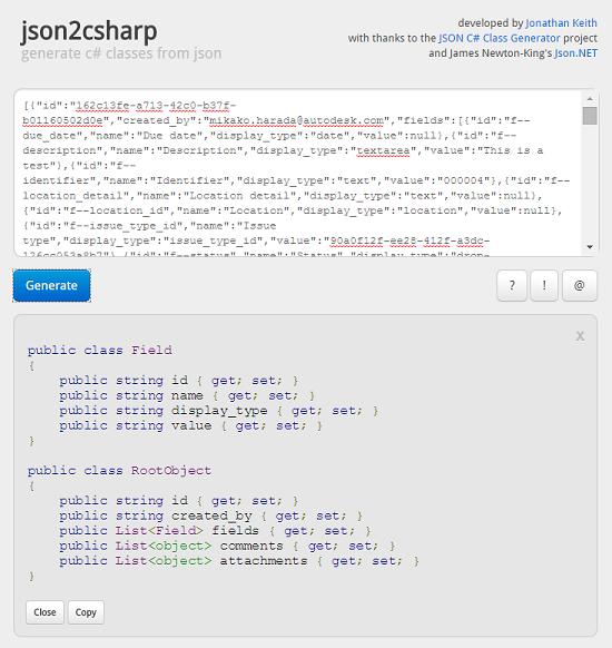 Json Response To Image